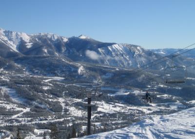 Ski in Big Sky Montana: Big sky ski lift