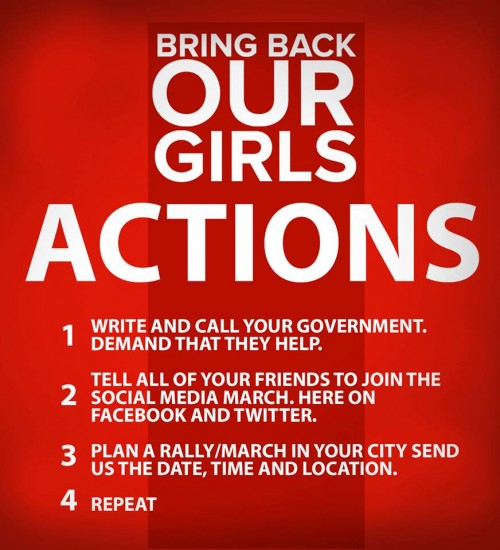 Bring back our girls #BringBackOurGirls