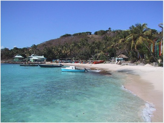 Calabash Coves secluded white sand beach