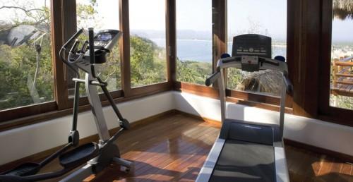 Monday Off at Casa Colina Mexico: Gym