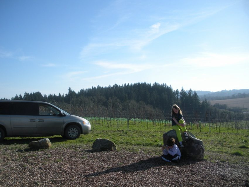 Living the American Dream on a Vineyard: Have mini van will travel