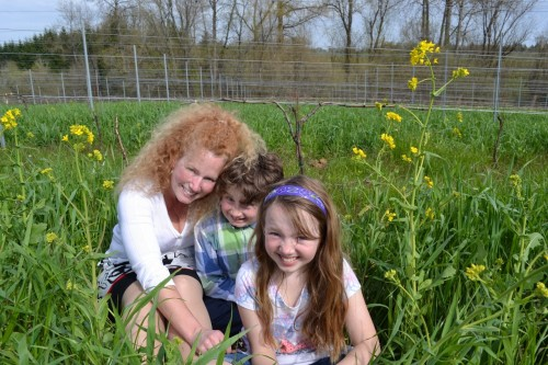 An American Dream Mother's Day Story: Motherhood bliss in the vineyard
