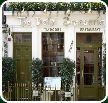 Pictures of London: Delhi Brasserie