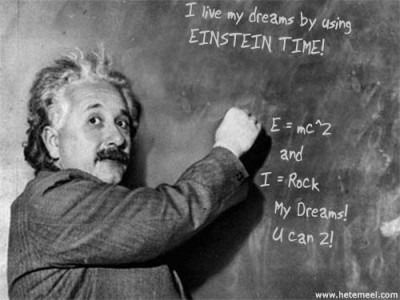 EINSTEIN TIME LOVE