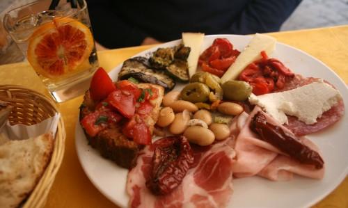 Eating out in Rome, Italy (pic Natasha von Geldern)