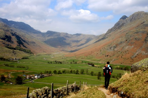 Travel Dreams for 2015: English Lake District Day Walks Langdale Valley