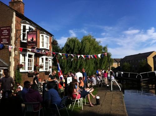 English pubs - The Rising Sun, Berkhamsted