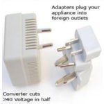 Travel Gift: Foreign Electrical Adaptors and Converters