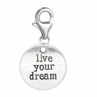 Gift Ideas for Dreamers life your dream charm