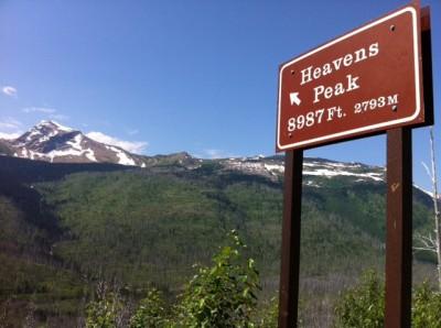 Heavens Peak Big Sky Country