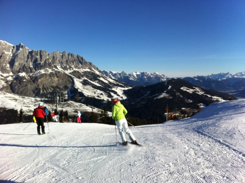 Hochkonig am Muhlbach - skiing in Austria