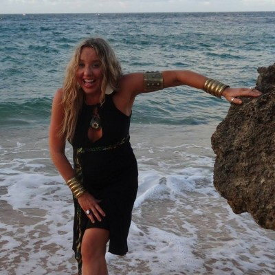 Finding Happiness In New York Fashion Week - Siobhan at the ocean