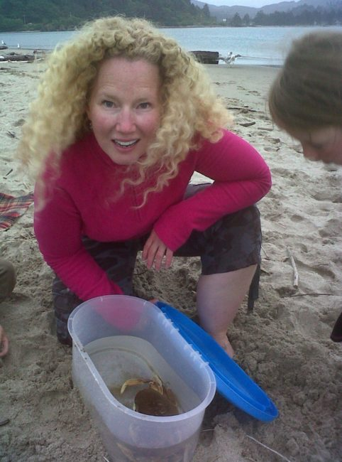The New Julia Child: I caught the very first Jewel of the Sea Dungeness crab