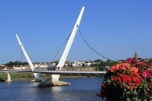Derry Peace Bridge, Northern Ireland