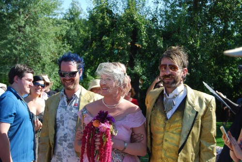 Finding Happiness in A Bohemian Wedding  Jenny Sid and Joe