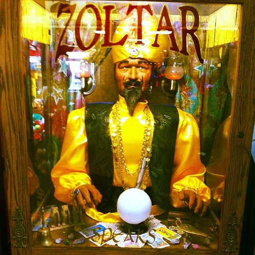 Finding Happiness By Tackling Your Bucket List: Zoltar Coney Island