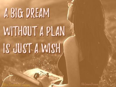 8 Best Inspirational Planners to Boost Your Confidence and Dream Big Productivity - A Dream Without a Plan is Just a Wish