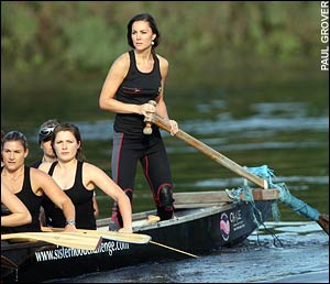 Kate Middleton Rowing by Fantachicks and Paul Grover