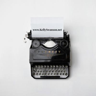 Steps to writing a speech - typewriter