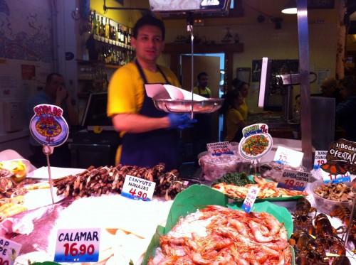 Top 8 Things to do on a Dream Barcelona Break: La Paradeta seafood restaurant in Barcelona