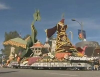 How Does One Recover from Rose Parade Float Building?