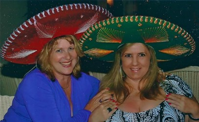 Mexican hat keeps woman's head from exploding