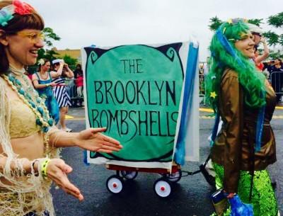 MERMAID 2015 Brookly Bombshells Booty