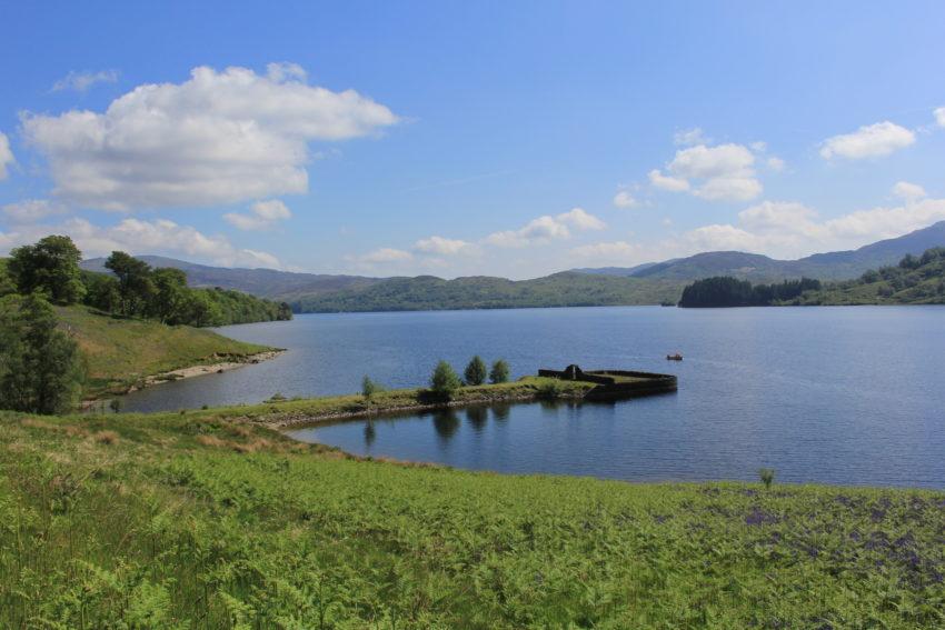 The romance of Scotland: Sir Walter Scott and Loch Katrine