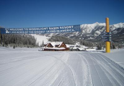 Ski in Big Sky Montana: Moonlight Basin