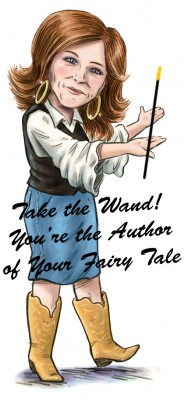 Motivational speaker Kelly Swanson encourages you to take control, grab the magic wand, and rewrite your fairy tale