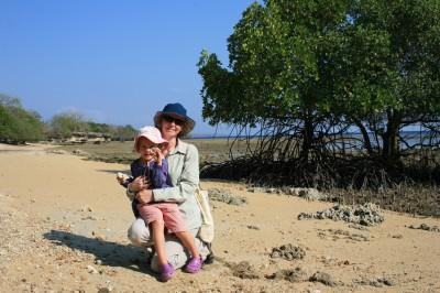 Travel with children - Natasha & daughter in Bali, Indonesia