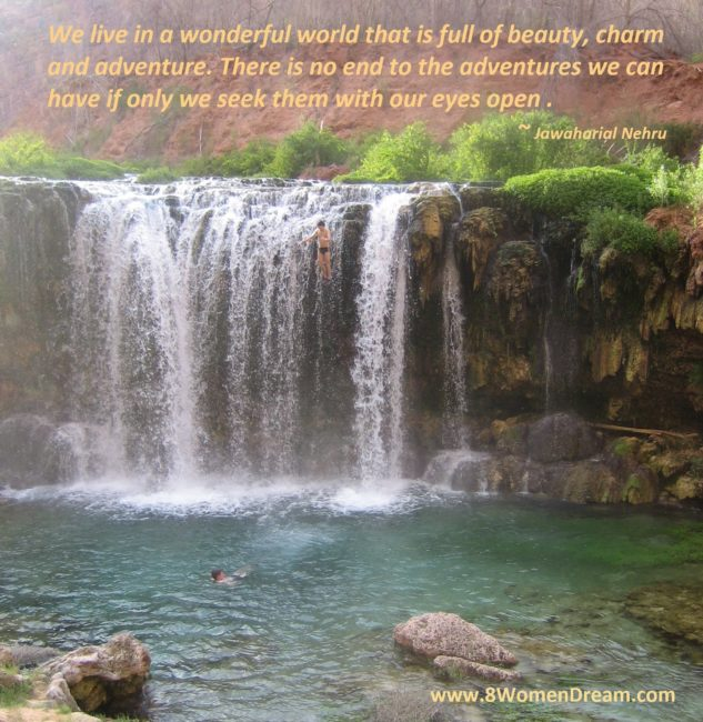 Motivational Picture Quote: Travel Opens us to New Beauty
