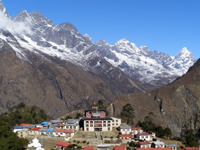 Remembering Nepal Before the Quake: The Tengboche Monastery
