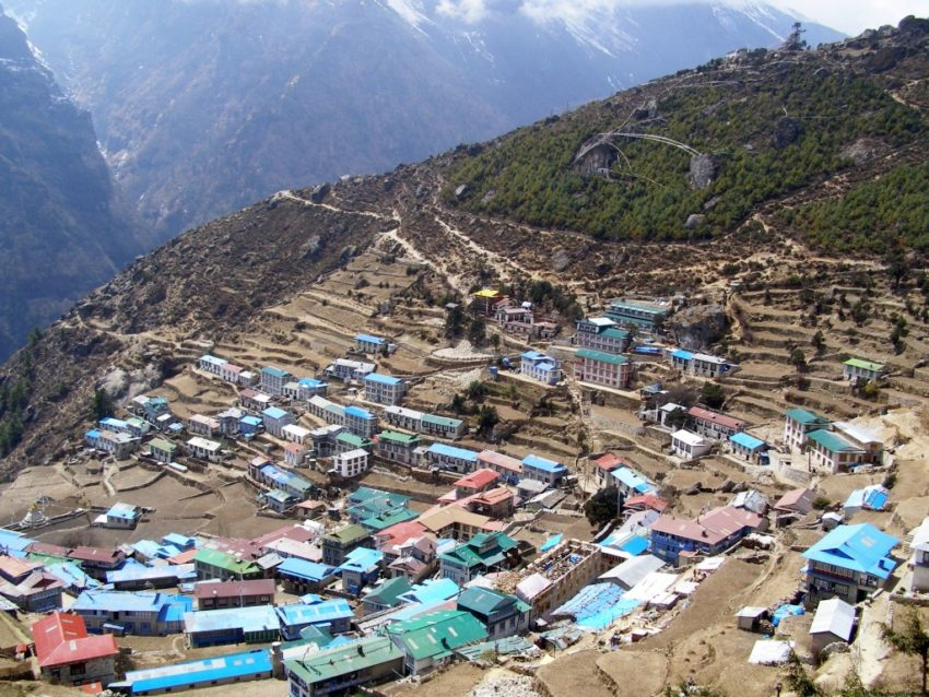Remembering Nepal Before the Quake: Namache in the spring