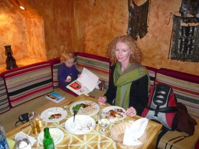 A Lebanese restaurant in Cairo