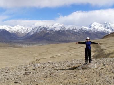 Natasha in Tajikistan, Central Asia
