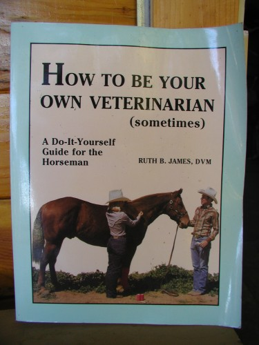 How to Be Your Own Veterinarian Sometimes