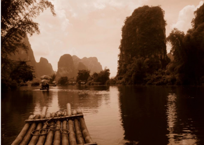 Raft Ride on the Dragon River