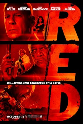 Red Retired and Extremely Dangerous Movie