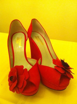 Red Shoes Living Our Dreams