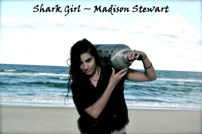 Shark Girl Madison Stewart Shows the World How Dreaming Gets Done Right: Shark Girl Madison Stewart