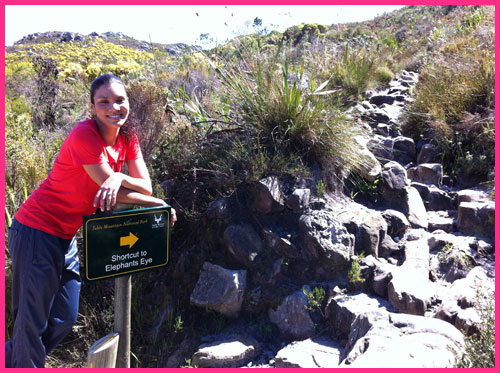 Cape Town South Africa: A Dreamers View of a hike to Elephants Eye