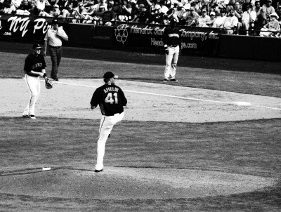 Images of Spring Training Dreams in black and white