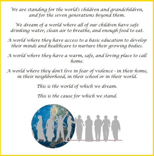 Stand with Women all Over the World on May 11: The Stand with Women Statement