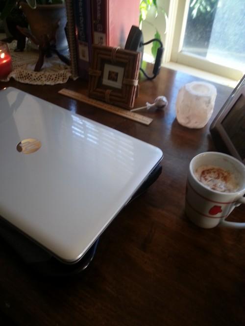 Starting over at Midlife: Karens writing space