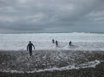 surfing dream in wales