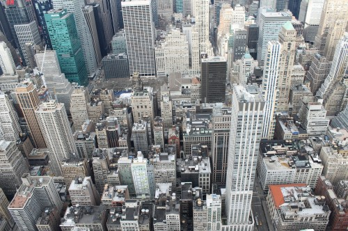 Finding Happiness in Taking on Big Challenges: New York Skyline