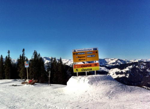 The Konigstour - Hochkonig ski region, Austria