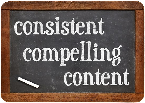 The Secret to Being a Great Blog Writer - Consistent, compelling content