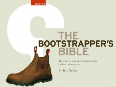 The bootstrappers bible by Seth Godin